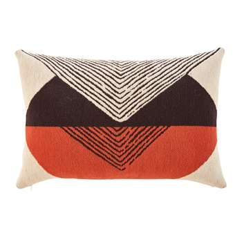 FASO Outdoor Cushion with Graphic Motifs (H40 x W60cm)