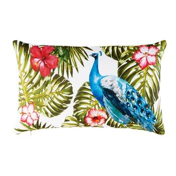 Outdoor Cushion with Tropical Print (30 x 50cm)