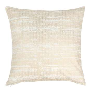 OVERBEKE - Ecru and Gold Cotton Cushion Cover (H40 x W40cm)