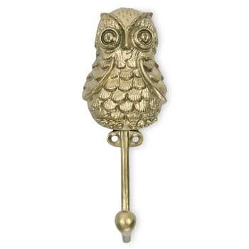 Owl Hook (H14 x W5 x D5cm)