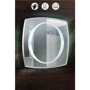Oxygen Illuminated  Bathroom Mirror (50 x 50cm)