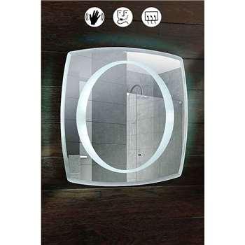 Oxygen Illuminated  Bathroom Mirror (50 x 50cm)