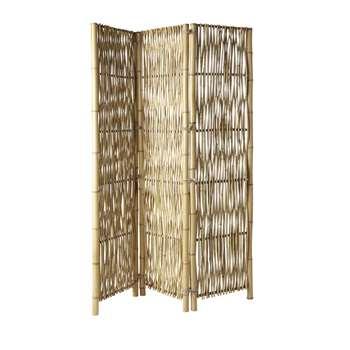 PAHOA - Bamboo Room Divider (H181 x W138 x D4cm)