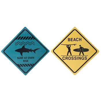 Pair of Surfer plaques