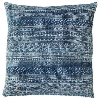 Palayam Cushion Cover, Extra Large - Blue (56 x 56cm)