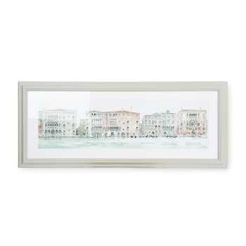 Palazzi Framed Print (H40 x W96cm)
