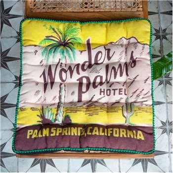 Palm Springs Matchbox Seat Pad (H40 x W40 x D5cm)