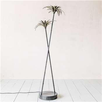 Palm Tree Floor Light (H125 x W36 x D25cm)