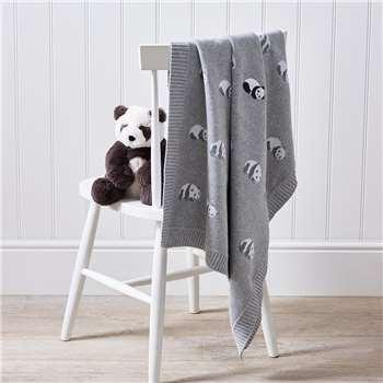 Panda Baby Blanket (H75 x W100cm)
