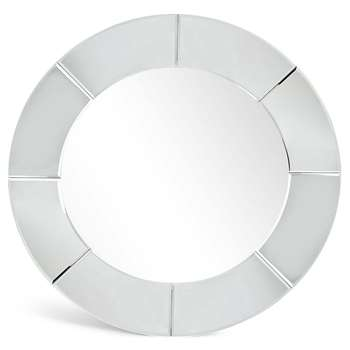 Panel Round Mirror (80 x 80cm)