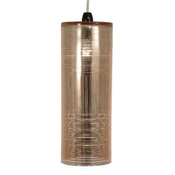 Panola Pendant Light Shade Rose Gold (H39.5 x W14.5 x D14.5cm)