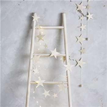 Paper Star Garlands – Set of 2 (Length 175cm)