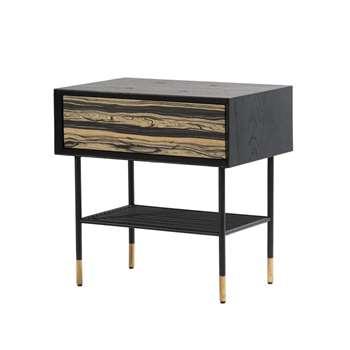 Papillon Bedside Table (H61 x W60 x D40cm)