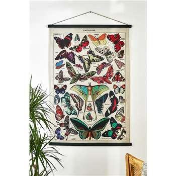 Papillon Wall Art Hanging (H123 x W84cm)