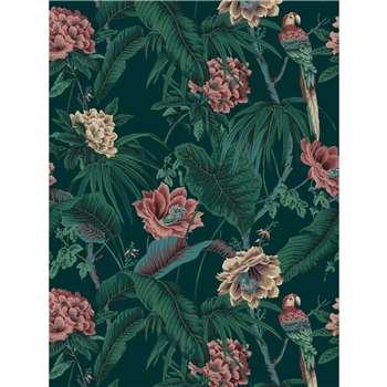 House of Hackney - Paradisa Spruce Green Wallpaper (300 x 135cm)