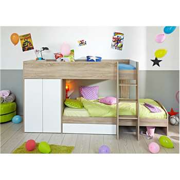 Parisot Stim Kids Bunk Bed 154 x 280cm