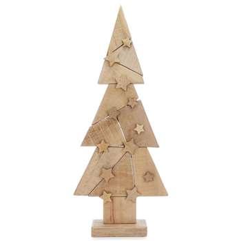 Parlane - Wooden Christmas Tree Ornament (H82 x W34.5 x D10cm)