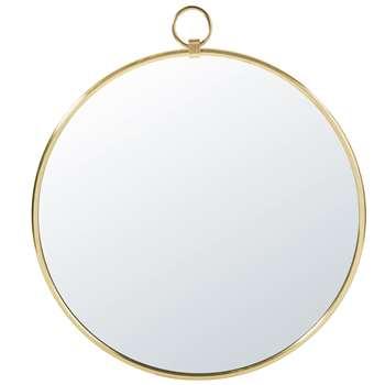PASADENA - Gold Metal Mirror (H89 x W80 x D2.5cm)