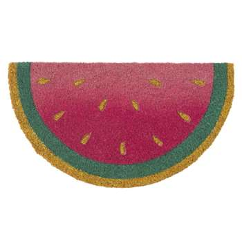PASTÈQUE Doormat with Watermelon Print (50 x 28cm)
