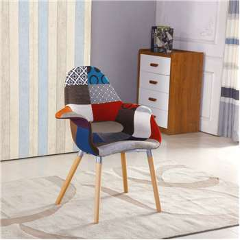 Patchwork Viola Chair (88 x 70cm)
