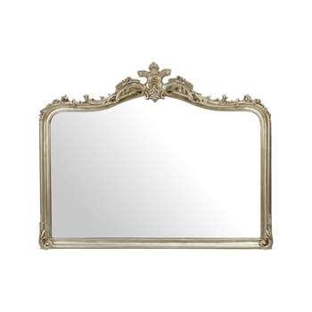 Patricia Champagne Overmantel Mirror 101 x 126cm