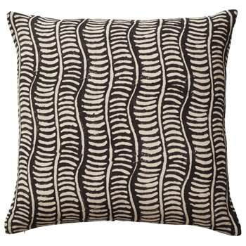 Pattani Eclipse Cushion Cover - Onyx (H51 x W51cm)