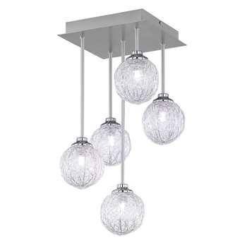 Paul Neuhaus Womble 5 Light Ceiling Light (H47.5 x W25 x D25cm)
