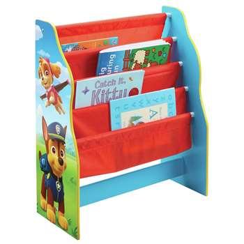 Paw Patrol Sling Bookcase - Blue (H60 x W51 x D23cm)