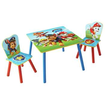 Paw Patrol Table & 2 Chairs - Blue