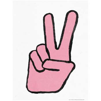 Peace Print By Marcus Waters (H40 x W30cm)