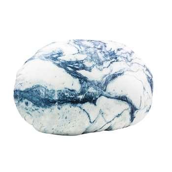 Pebble cushion blue (30 x 39cm)