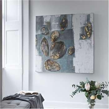 Pebbles Acrylic on Canvas (H120 x W120cm)