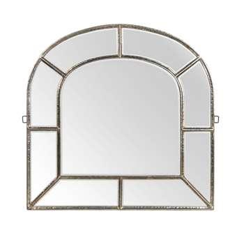 Pembridge Beaten Iron Arch Mirror - 120cm