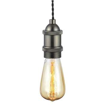 Pendant Cable Light Fitting (H100 x W11 x D11cm)