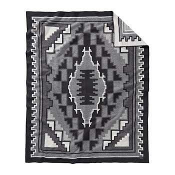 Pendleton - Weaver's Series Blanket - Mary Henderson Black (H203 x W162cm)