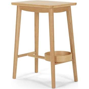 Penn Bedside Table, Oak (54 x 42cm)