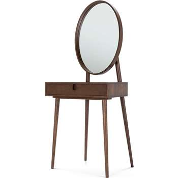 Penn Dressing Table, Dark Stain Ash (144 x 65cm)