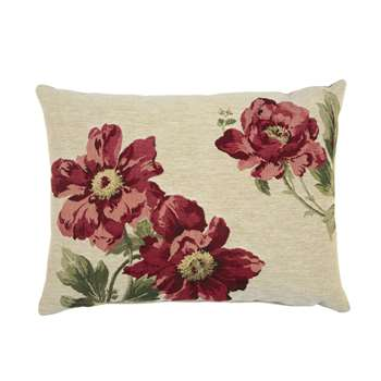 Peony Tapestry Cushion (40 x 50cm)