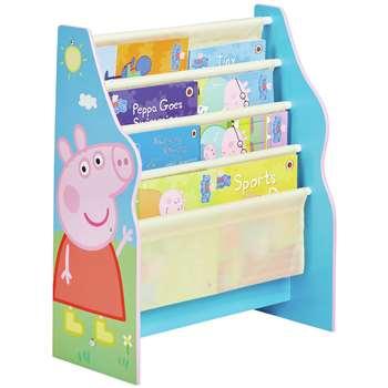 Peppa Pig Sling Bookcase (H60 x W51 x D23cm)