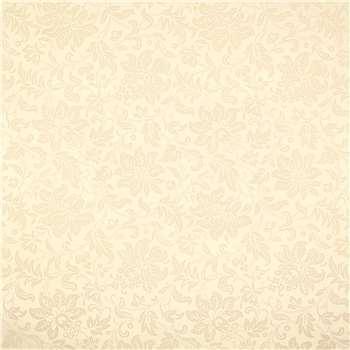 Percy Cream Non Woven Wallpaper