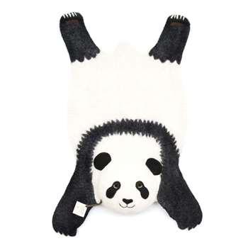 Perry Panda Felt Rug (H80 x W60cm)
