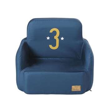 PETIT BOLIDE Blue Children's Armchair (44 x 52cm)