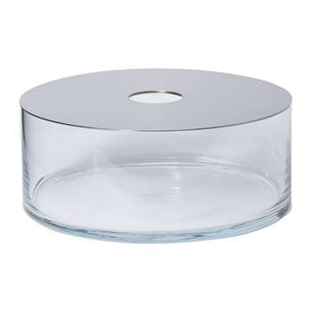 Petite Friture - Narciso Transparent Vase - Low (12 x 30cm)