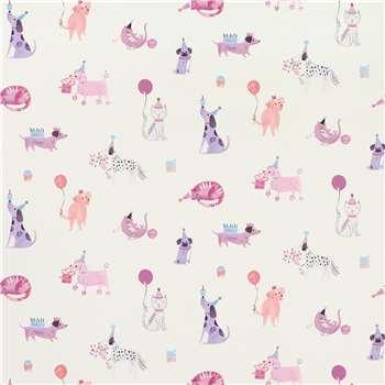 Pets Pink Wallpaper