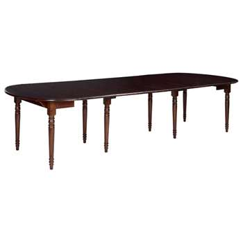 Petworth Extending Dining Table, French Walnut (79 x 110-350cm)