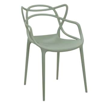 Philippe Starck for Kartell Masters Chair, Green (H84 x W57 x D47cm)