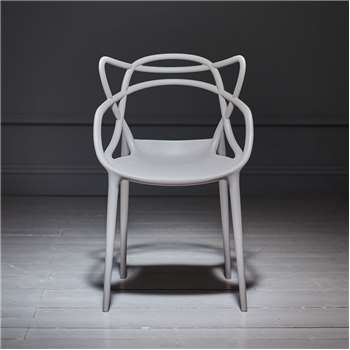 Philippe Starck Grey Masters Chair (84 x 57cm)