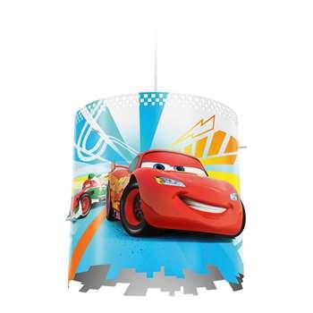 Philips Disney Cars Pendant Lightshade - Red (Diameter 12.3cm)