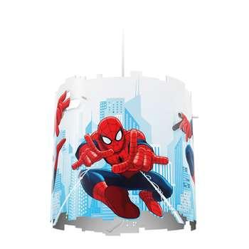 Philips Disney Spider-Man Pendant Lightshade - Red (Diameter 26cm)