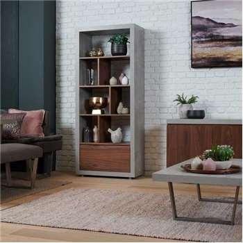 Phoenix Dining Tall Bookcase (H190 x W80 x D39cm)